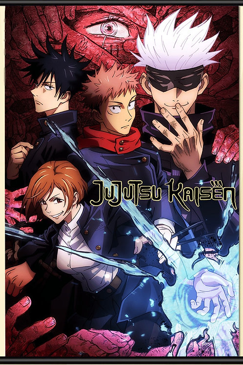 Jujutsu Kaisen Posters