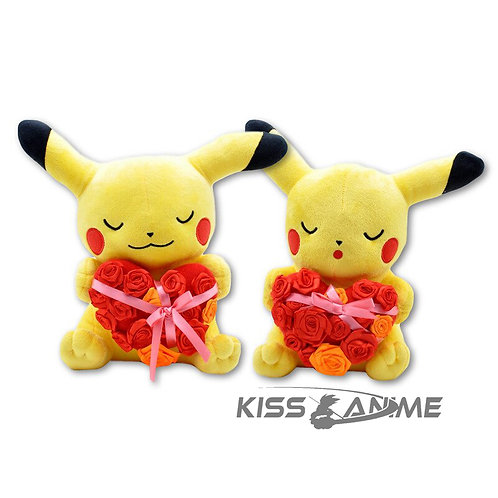 Pokemon Pikachu with Heart Valentine's Day Plush Toy