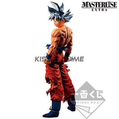 Ichiban Kuji Dragon Ball Super Masterlise Extra God Ultra Instinct Goku