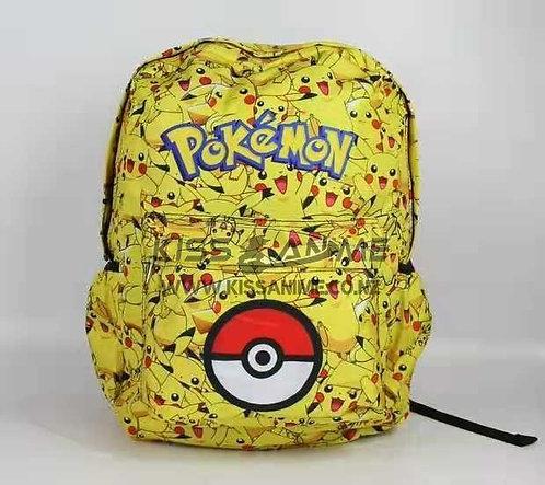 Pokemon Go Pikachu Backpack School Bag