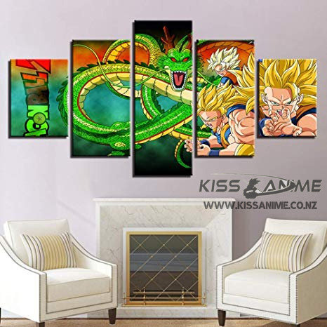 Dragon Ball Z Canvas Painting
