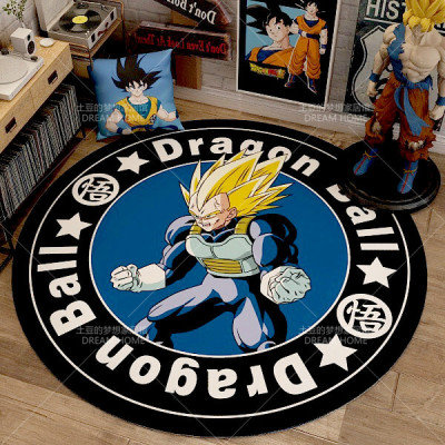 Dragon Ball Z Vegeta Circle Carpet