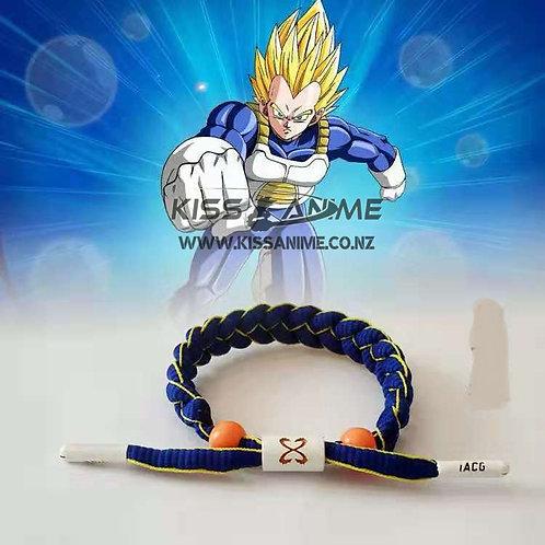 Dragon Ball Super Shoelace Bracelet(Vegeta)