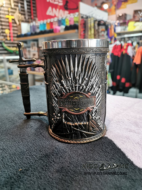 Game of Thrones Iron Throne Tankard Mug