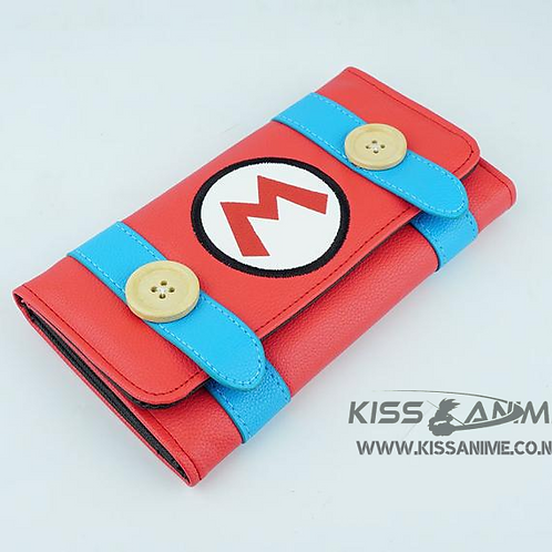 Super Mario Bros Long Wallet