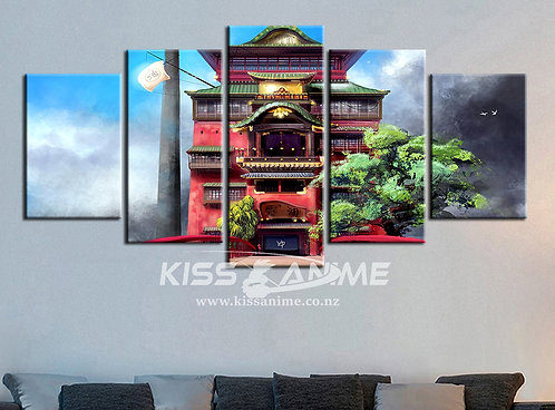 Spirited Away Canvas Painting