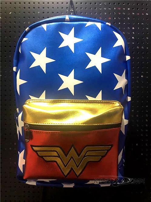 Wonder Woman Backpack School Bag