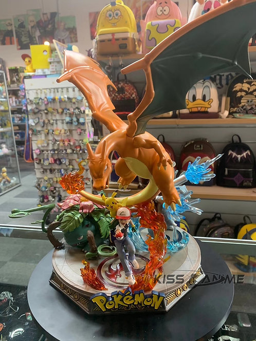 GD Studio – Pokemon First Generation with Ash Ketchum Gk Resin Statue