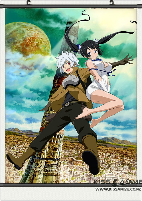 Is It Wrong to Try to Pick Up Girls in a Dungeon? Posters