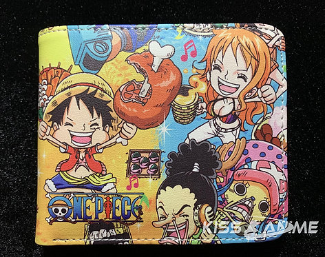 One Piece Chibi Wallet