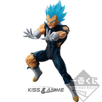 Ichiban Kuji Dragon Ball C Super Saiyan Battle - Vegeta Blue