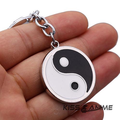 Naruto Yin Yang Keychain