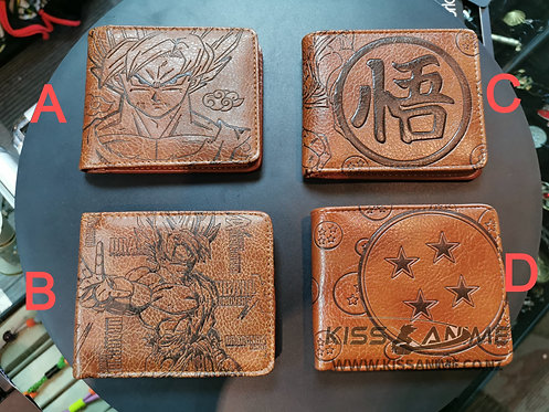Dragon Ball Z Wallets