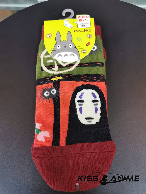 Spirited Away Kaonashi (No-Face) Socks
