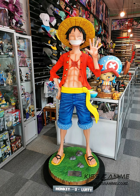 One Piece Monkey D Luffy 1:1 Life-size GK Resin Statue