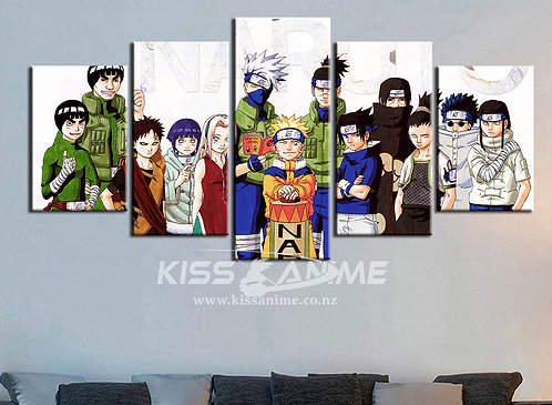 Naruto: Shippuden Canvas Painting