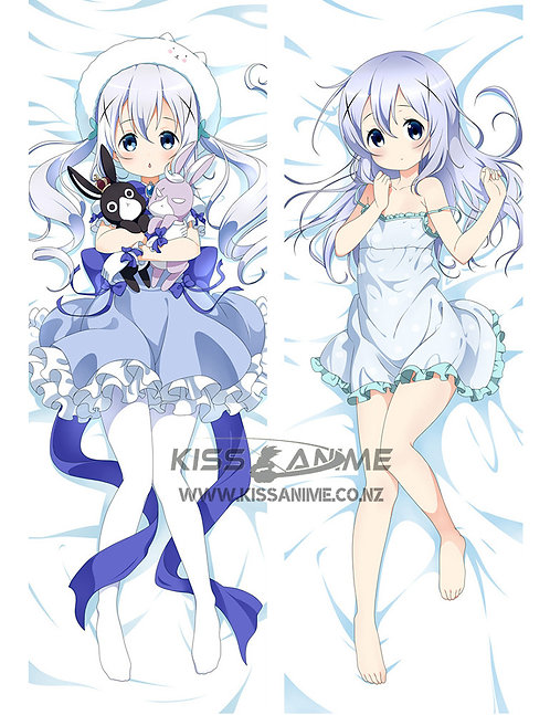Is the Order a Rabbit? Chino Kafuu Dakimakura Hugging Body Pillow Package