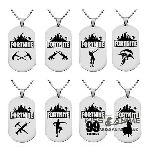 Fortnite Dog Tag Necklaces