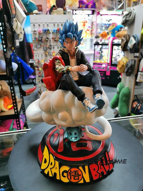 Dragon Ball Supreme Goku Blue GK Resin Statue