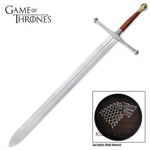 Game of Thrones Swords Eddard Stark Sword with Plaque