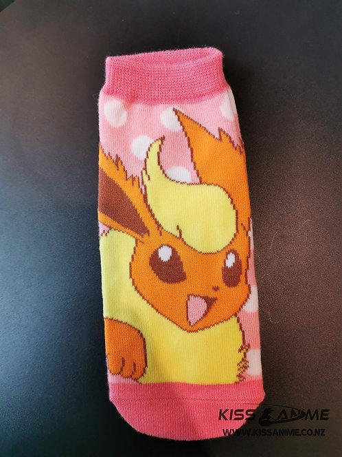Pokemon Flareon Socks