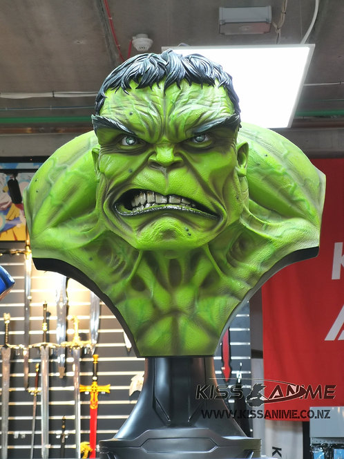 Marvel The Incredible Hulk Life-Size Bust GK Resin Statue