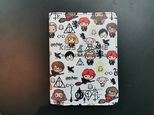 Harry Potter Chibi Character Print Passport Holder