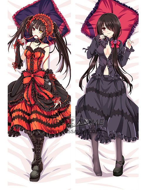 Date a Live Tokisaki Kurumi Dakimakura Hugging Body Pillow Package
