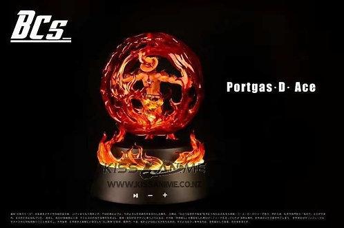 BCS Studio �C One Piece Portgas D. Ace Magnetic Levitation Speaker