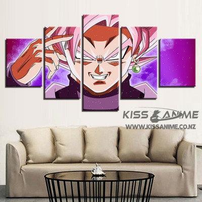 Dragon Ball Super Zamasu Goku Black Canvas Painting
