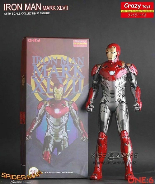 Crazy Toys Marvel Avengers  Iron Man Mark XLVII 1/6th Scale Figure
