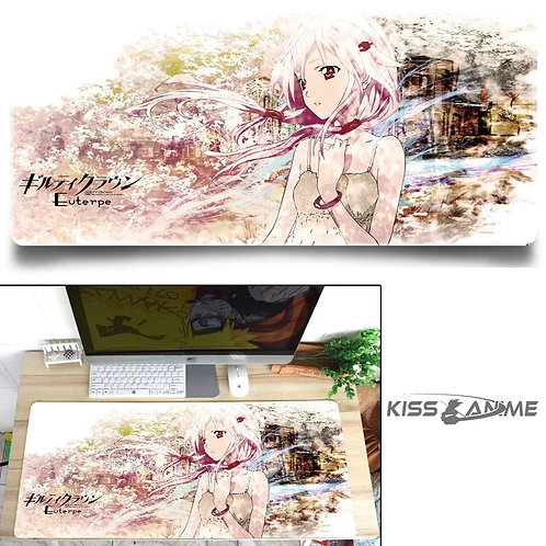 Guilty Crown Mouse Pad Keyboard Pad