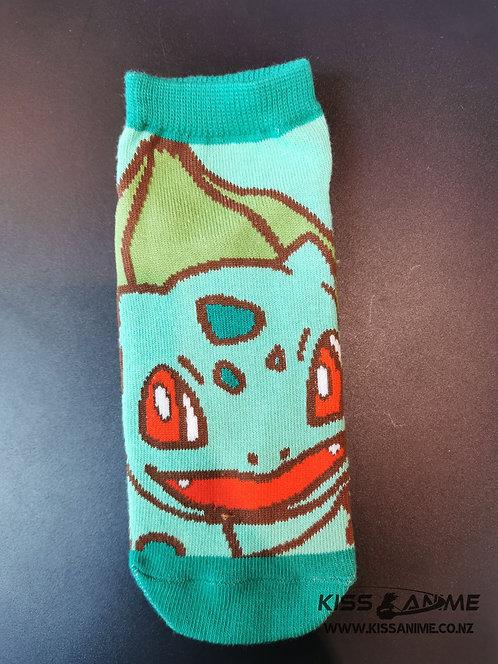 Pokemon Bulbasaur Socks