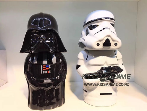 Star Wars Ceramic Stein Mug (Vader & Stormtrooper)