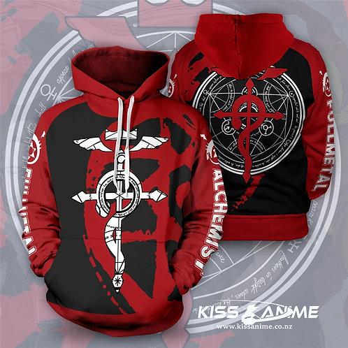 Fullmetal Alchemist  Pullover Jacket Sweatshirt