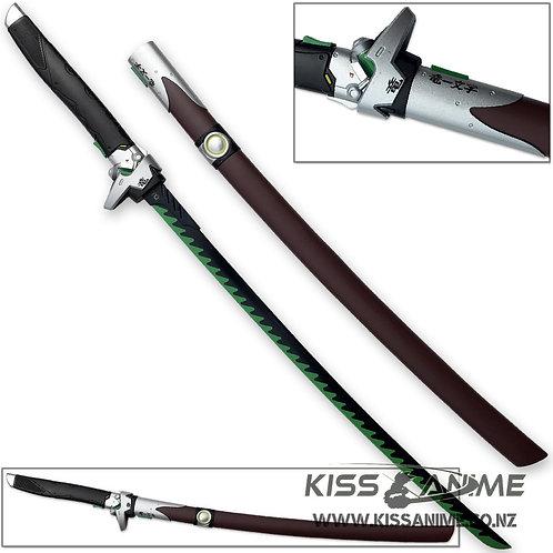 Overwatch Katana Genji Sword Dragonblade Cybernetic Warrior Steel OW