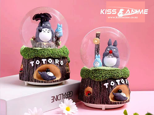 My Neighbor Totoro  Crystal Ball Snowflake Music Box