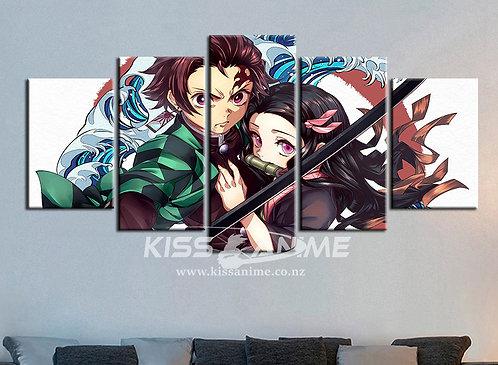 Demon Slayer: Kimetsu no Yaiba  Canvas Painting