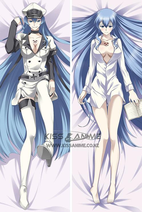 Akame Ga KILL! Esdeath Dakimakura Hugging Body Pillow Package