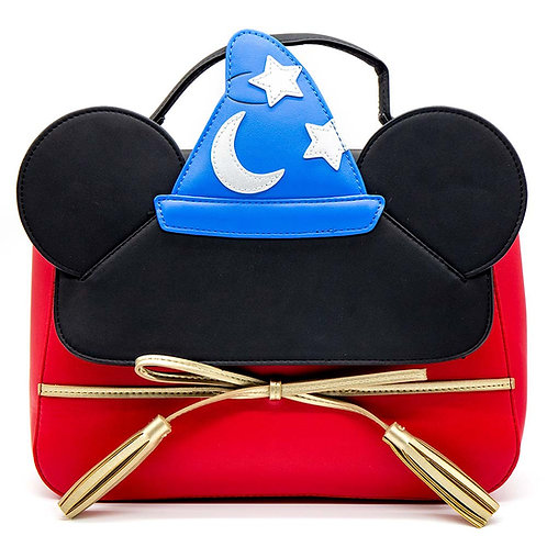 Loungefly Disney Sorcerer's Apprentice Mickey Crossbody Bag