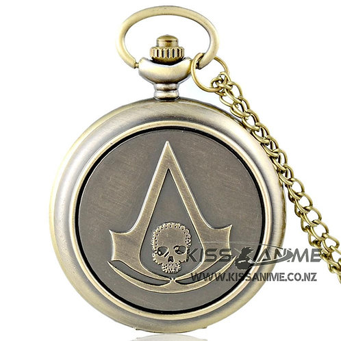 Assassin's Creed Pendant Pocket Watch