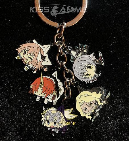 Fate/Apocrypha 5 Pendant Metal Keychain
