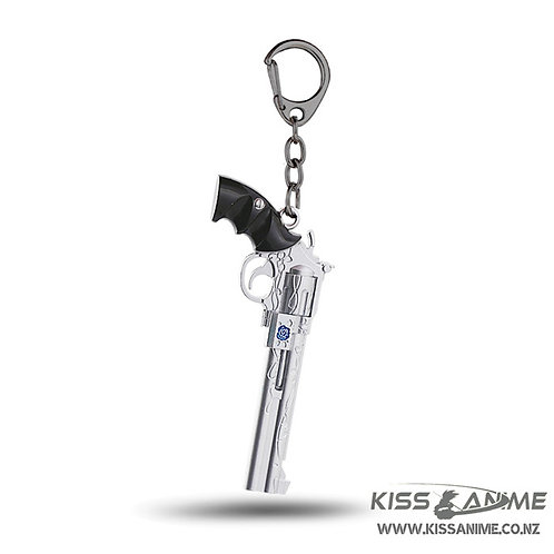 Devil May Cry Blue Rose Keychain