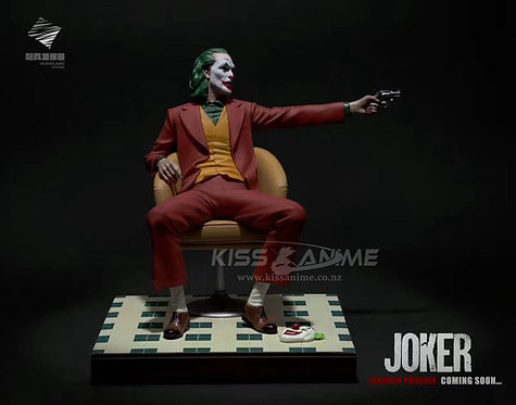 Joker Joaquin Phoenix Authur Fleck Resin Statue 1/6