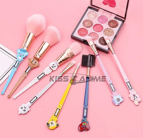BTS Deluxe Makeup Brush Set (8 PCS)