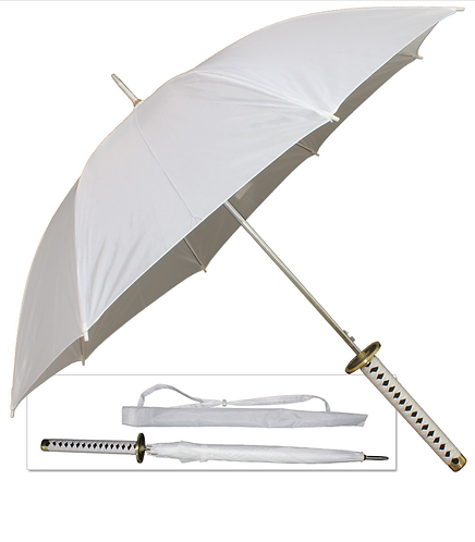 One Piece Anime Roronoa Zoro's Umbrella Sword Handle - 3 Colors