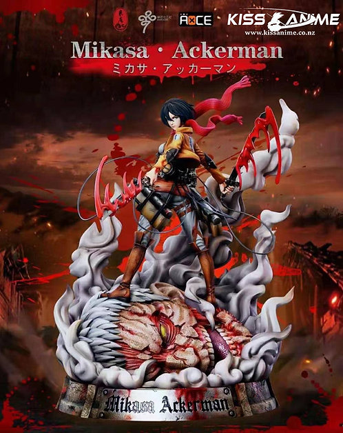 PRE-ORDER 1/6 Scale  Attack on Titan Mikasa Ackerman Resin Statue