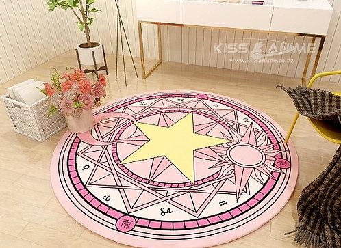 Cardcaptor Sakura Circle Carpet