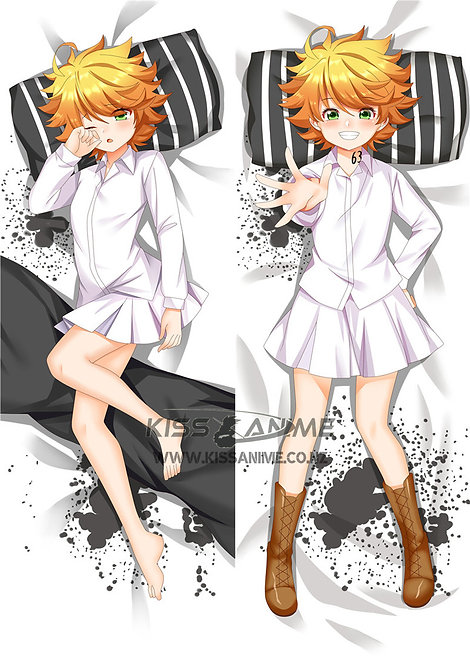 The Promised Neverland Emma Dakimakura Hugging Body Pillow