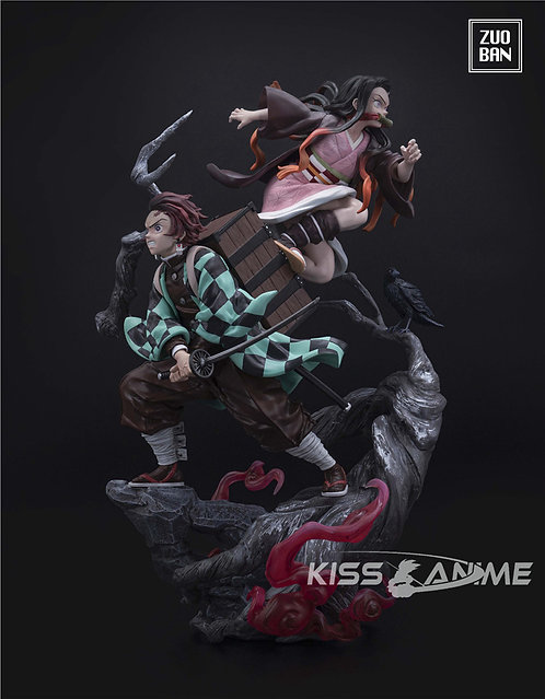 PRE-ORDER Demon Slayer Kamado Tanjirou Nezuko 1/6 Resin Statue